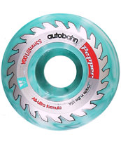 Autobahn Peppers Buzzsaw Swirl 53mm Skateboard Wheels