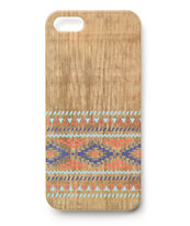 Aztez Wood iPhone 5 Case