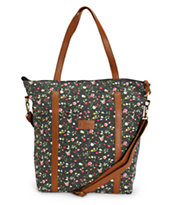 BODDINGTON TOTE BK FLORAL DOT