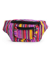 Baja Bags Multi Stripe Fanny Pack