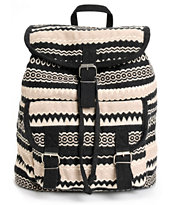 Baja Bags Stephie Woven Rucksack Backpack