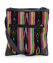 Baja Bags Tribal Stripe Crossbody Purse