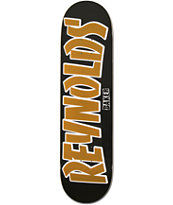 Baker Andrew Reynolds Thrash Name Black 8.125  Skateboard Deck