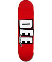 """Baker Dee Logo 8.0"""" Skateboard Deck"""
