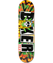 "Baker Hawk Icon Rasta 8.0"" Skateboard Deck"