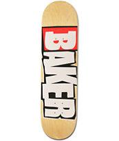 Baker Reset Logo 8.12 Skateboard Deck