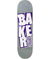 "Baker Stacked Chillwave 8.125"" Skateboard Deck"