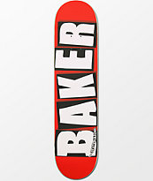 """Baker White Brand Logo 7.5"""" Skateboard Deck"""