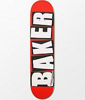 Baker White Brand Logo 7.5 Skateboard Deck