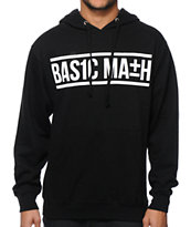Basic Math Bar Logo Hoodie
