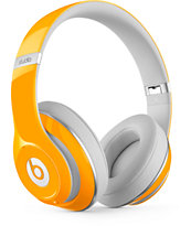 Beats By Dre Black Studio 2 Orange Headphones