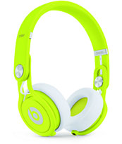Beats By Dre Mixr Limited Edition Neon Yellow Headphones