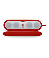 Beats By Dre Pill Sleeve Red Speaker Case