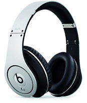 Beats By Dre Studio Silver Headphones