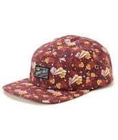 Benny Gold Dolores All-Over 5 Panel Hat