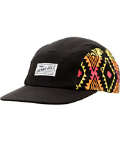 Benny Gold Native Black 5 Panel Hat