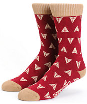 Benny Gold Propeller Crew Socks