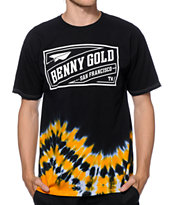 Benny Gold Stamp Tie Dye T-Shirt