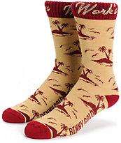 Benny Gold Tropics Crew Socks