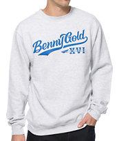 Benny Gold XVI Script Crew Neck Sweatshirt