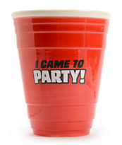 Big Mouth Toys Giant Ceramic Red Cup