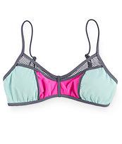 Bikini Lab Sporty Splice Bralette Bikini Top