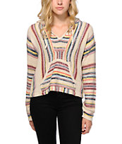 Billabong Baja Crop Sweater Poncho