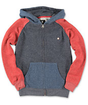 Billabong Boys Balance Navy Zip Up Hoodie