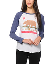 Billabong Cali Love Baseball Tee