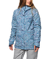 Billabong Cheeky Tile Print 10K Snowboard Jacket