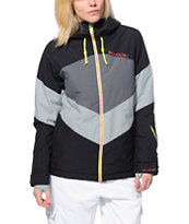 Billabong Colors Black & Grey 10K Women's Snowboard Jacket 2014