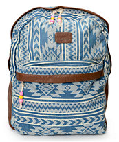 Billabong Girls Burning Up Denim Backpack