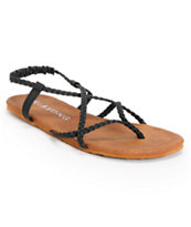 Billabong Girls Crossing Over Black Sandals