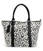 Billabong Girls Wild Limits Animal Print Tote Bag
