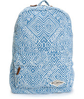 Billabong Hand Over Love Tribal Denim Backpack