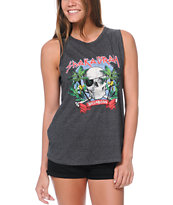 Billabong Headtrip Black Muscle Tank Top