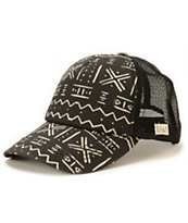 Billabong Hippie Heartz Geo Print Trucker Hat