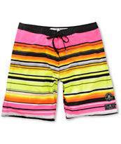 Billabong Iconic Stripe Yellow 19 Board Shorts