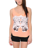 Billabong Keep Telling Me Coral Tank Top