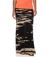 Billabong Midway Luv Black Maxi Skirt