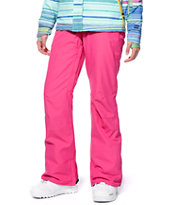 Billabong Pink Lily 10K Snowboard Pants