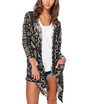 Billabong Sea Voyagez Cardigan Sweater