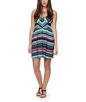 Billabong Spread The News Strapless Dress