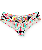 Billabong Tiles And Tides Hawaii Cheeky Bikini Bottom