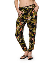 Billabong Turn It Loose Tropical Floral Pants