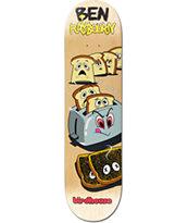 """Birdhouse Raybourn Toast 8.0"""" Skateboard Deck"""