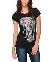 Bitter Sweet Boho Elephant T-Shirt