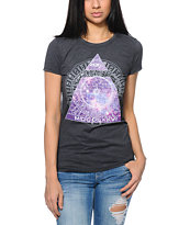 Bitter Sweet Celestial Eye Charcoal Tee Shirt