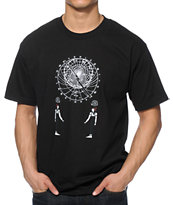Black Scale Astrolabe Tee Shirt