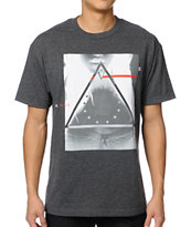 Black Scale Bermuda Triangle Charcoal Tee Shirt